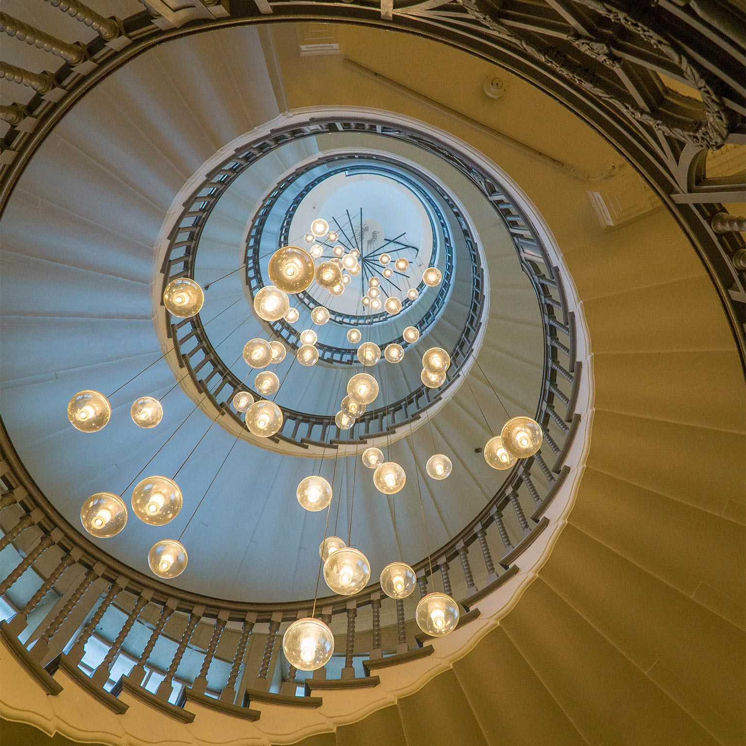 The Cecil Brewer Staircase , Heals